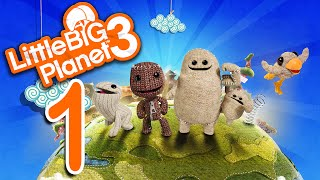 Let's Play Little Big Planet 3 (multiplayer) - EP01 - Southern Gentleman