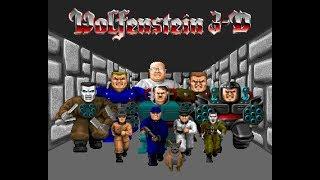 back to 20th centuries games | Wolfenstein 3D gameplay #episode 1