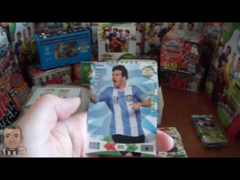 Opening BOOSTER BOX (international edition) panini ROAD TO WORLD CUP 2014 (part1/2)