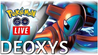 🔴 LIVE 🔴 2X DEOXYS EX RAIDS & NEW CP/HP CHANGES ARE LIVE   POKEMON GO NYC