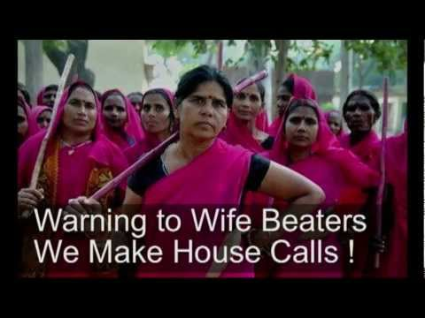 The Gulabi Gang India Pink Gangs video