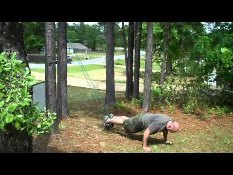 Suspension Training (TRX Style) Field Expedient With Dempsey's Resolution Fitness
