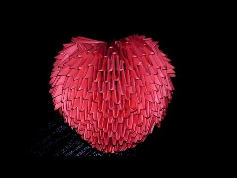 Модульное оригами объемное