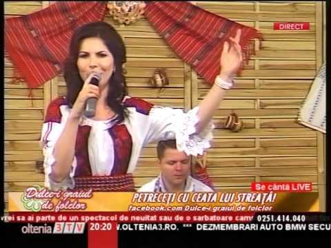 Livia Celea Streata   De la Valcean Targu Jiu LIVE 2015