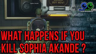The Outer Worlds Killing Sophia Akande | What Happens If | Rewards, Consequences & Outcomes