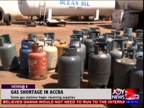 Gas Shortage in Accra - Joy News @ 8 (6-10-14)