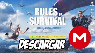 Rules Of Survival - JUEGO para Android