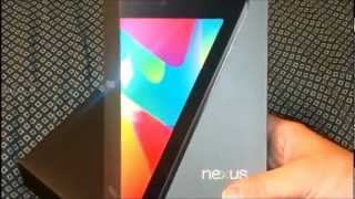 NEXUS 7 UNBOXING & A QUICK LOOK