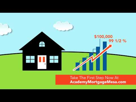 Half Percent Down Loan | Academy Mortgage Mesa