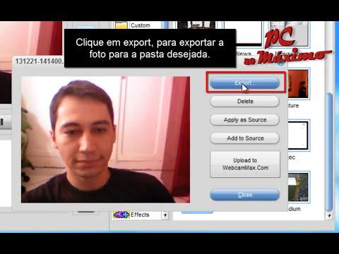 Como Fazer Video com WEB CAM