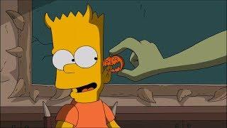 Bart's ear clamp test! #CTS Cartoon Tv Series