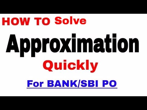How to solve Approximations questions Quickly | For Bank PO | In Hindi