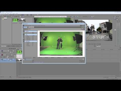 Sony Vegas Pro 11 Green Screen Tutorial