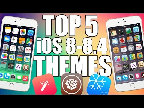Best Winterboard/Anemone Themes Of 2015! iOS 8-8.4 iPhone. iPad and iPod Touch