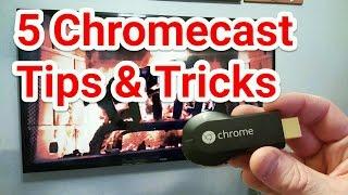 5 Chromecast Tips & Tricks   Chromecast 101