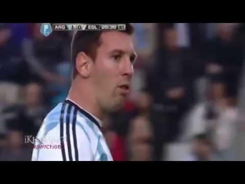 Lionel  Messi Vomits Again_Argentina vs Slovenia