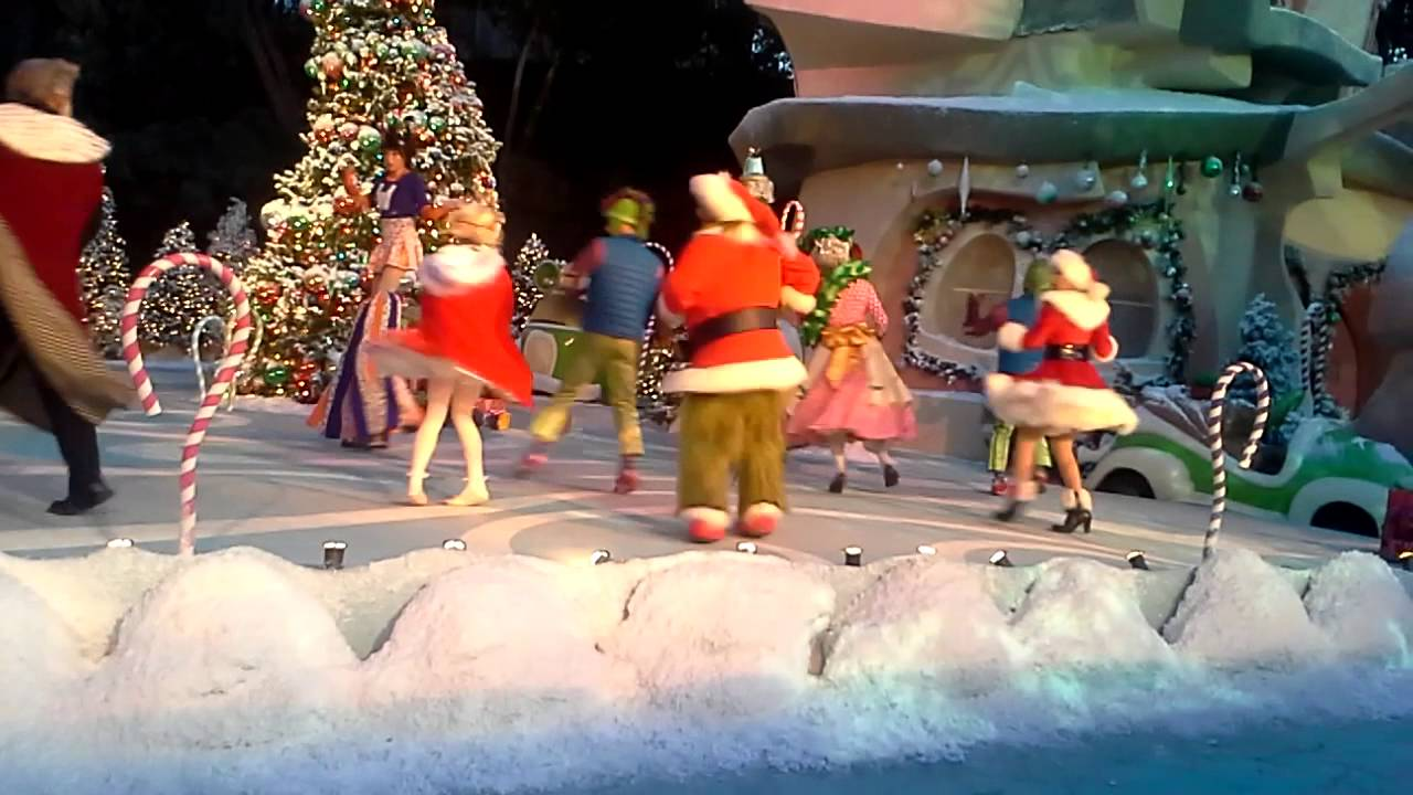 Universal Studio Hollywood Christmas Universal Studios Hollywood