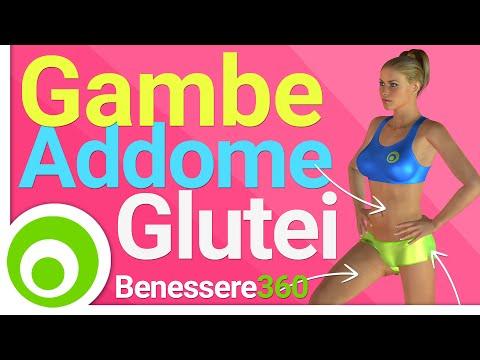 Gambe. Addominali e Glutei: Allenamento GAG. esercizi per dimagrire e tonificare a casa
