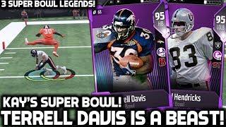 TERRELL DAVIS IS A BEAST! KAYKAYES