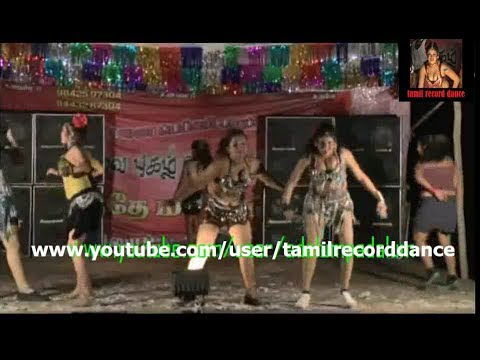 Tamil Village Aunty And Girls Hot Cleavage Show  Hot Record Dance video