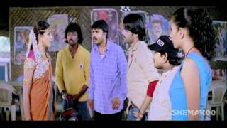 Ready Comedy - Ram and his friends drop off Genelia D'Souza
