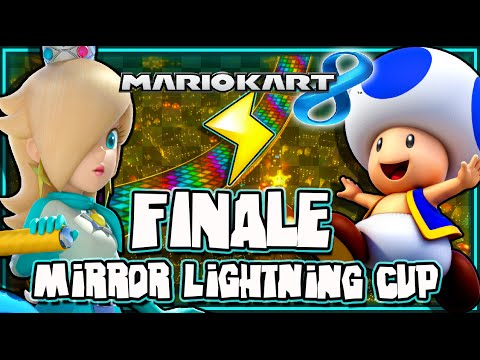 Mario Kart 8 Wii U - (1440p) Mirror Mode - Part 8 FINALE Lightning Cup