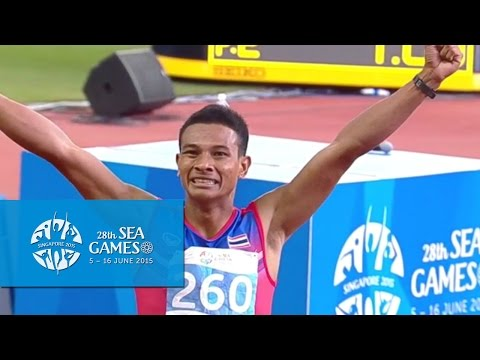 Athletics Men's 400m Final (Day 7) | 28th SEA Games Singapore 2015