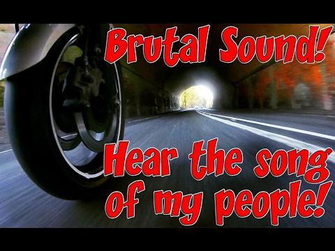 Yamaha 600cc Pure Brutal Sound! Black Widow Exhaust.