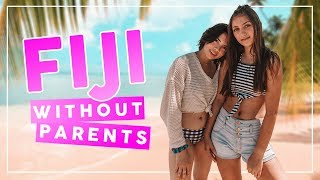Traveling ACROSS THE WORLD with NO PARENTS!   YouTubers in Fiji