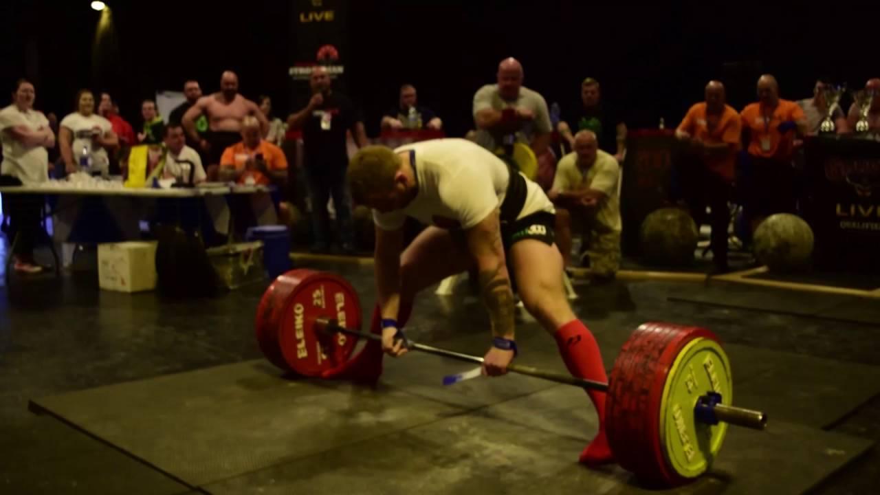 U90kg World Deadlift Record