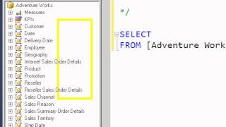 MDX Query Basics (Analysis Services 2012)