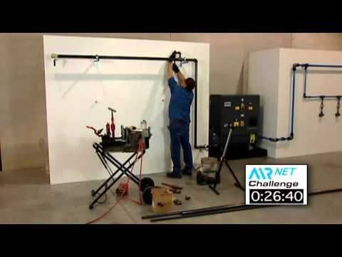 Compressed Air Piping System From Atlas Copco Compressors