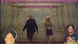THIS IS A DANGEROUS DUO!! BLACKPINK LISA X KIEL TUTIN CHOREOGRAPHY VIDEO REACTION!