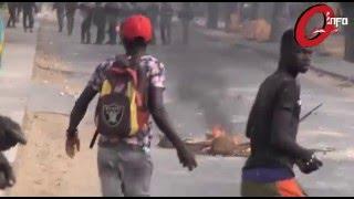 Manifestation: Ouakam sous haute surveillance