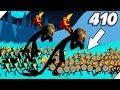 410 СТИКМЕНОВ ПРОТИВ ЗОМБИ - Stick War Legacy zombie mode # 7