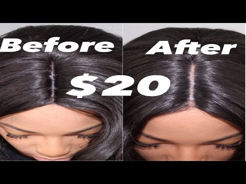 How To Make Synthetic Wig Look Real (Very Detailed)