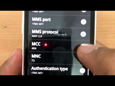 Android phone 3G setup with BSNL 3G