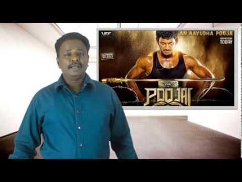 Poojai Tamil Movie Review - Vishal, Soori, Shruti Hassan - Tamil Talkies video