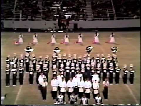 Bobcat Band Half-time Shows, Childress High School, 1989