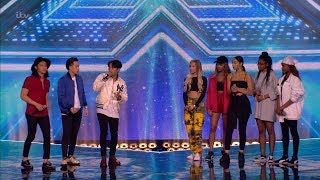 The X Factor UK 2017 Group Sing-Off for the Final Chair Six Chair Challenge Full Clip S14E13