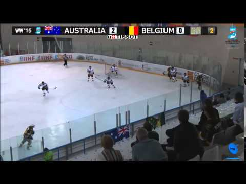 ICE HOCKEY WOMEN ´S WORLD CHAMPIONSHIP DIV II - B AUSTRALIA- BELGIUM