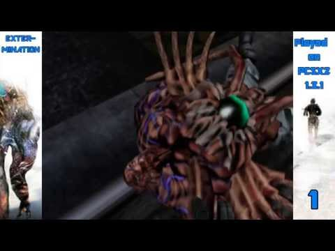 Extermination PS2 NTSC-US Played on PCSX2 1.3.1 Emulator Part 1 HD1080p