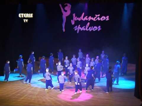 """ETERIS TV 2012.03.20 Birštone vyko modernaus šokio festivalis """"Judančios spalvos"""""""