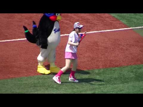 "10/07/10 swallows wings original dance & ""We Are The Swallows"" pre-game performance (Olive Ver.)"