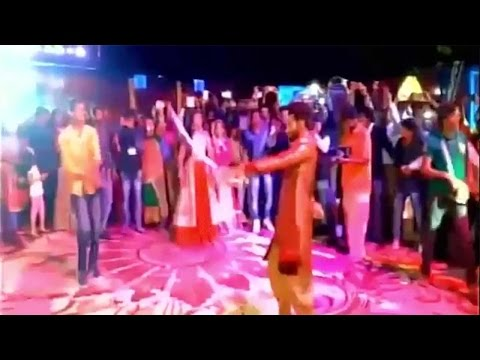 Ravindra Jadeja swinging sword at Sangeet ceremony, Watch video