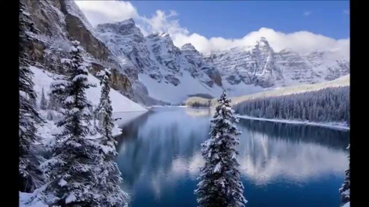Paysages d 39 hiver youtube - Dessiner un paysage d hiver ...