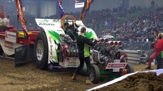 Indoor Riesa 2017 Modified 3,5t Tractor Pulling by MrJo