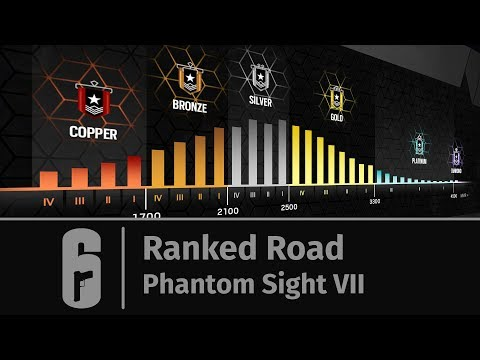 Rainbow Six: Siege - Ranked Road: Phantom Sight VII