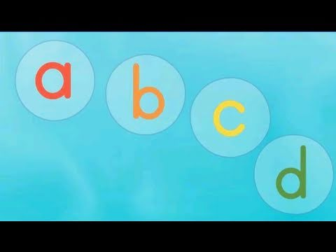 Bubbles ABC Song