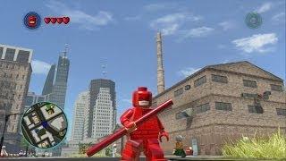 LEGO Marvel Super Heroes - Daredevil Unlocked + Free Roam Gameplay